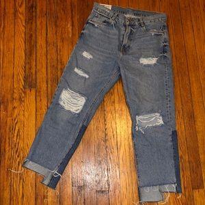 NEVER WORN size 6 Zara boyfriend jeans